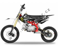 Dirtbike 125cc Ultimate Thunder 17x14 červená